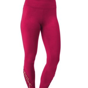 Soybu Vitality Yoga Leggings Cranberry Crush